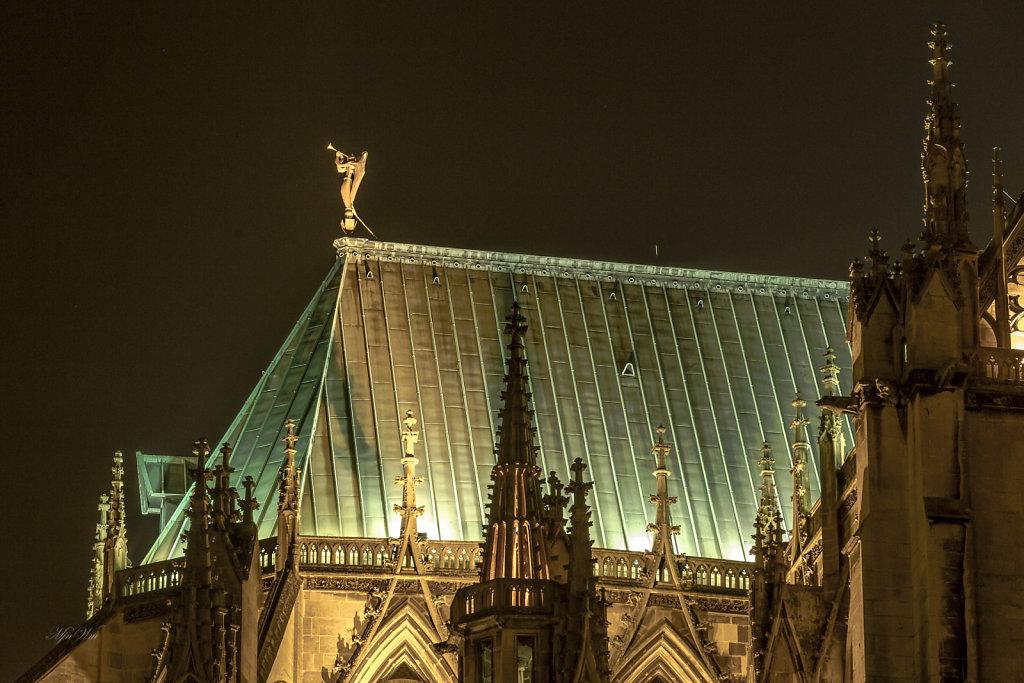 F08 : La Cathédrale Saint-Etienne - toiture - détails